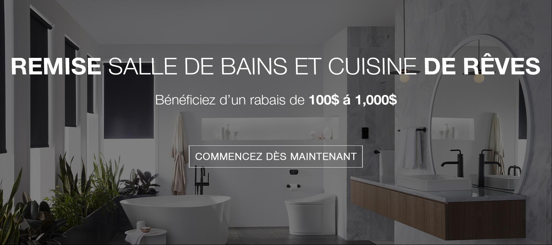 Dream Bathroom & Kitchen Rebate