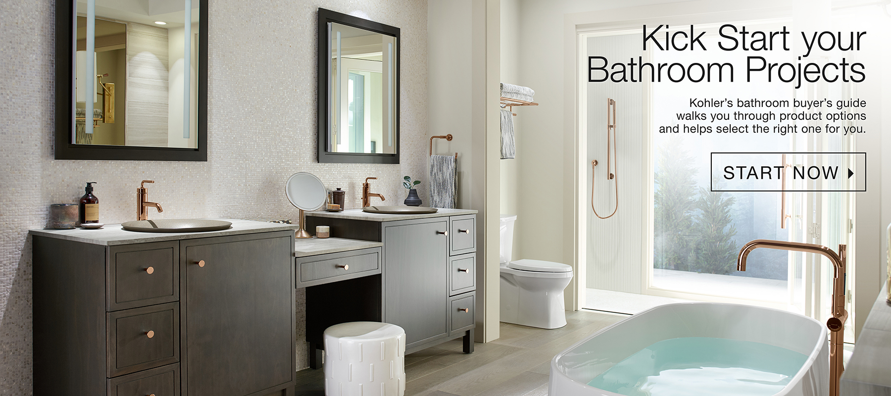 Kick Start Your Bathroom Projects